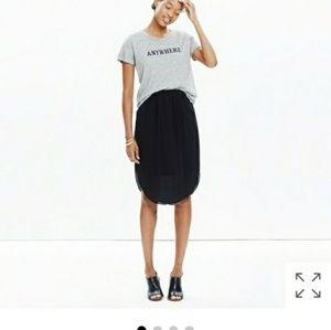Madewell Island Silk Skirt